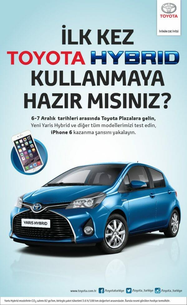 Toyota Hybrid Test Surus Gunleri