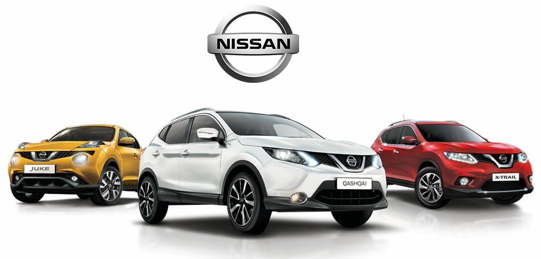 Nissan-Juke,-Qashqai,-X-Trail