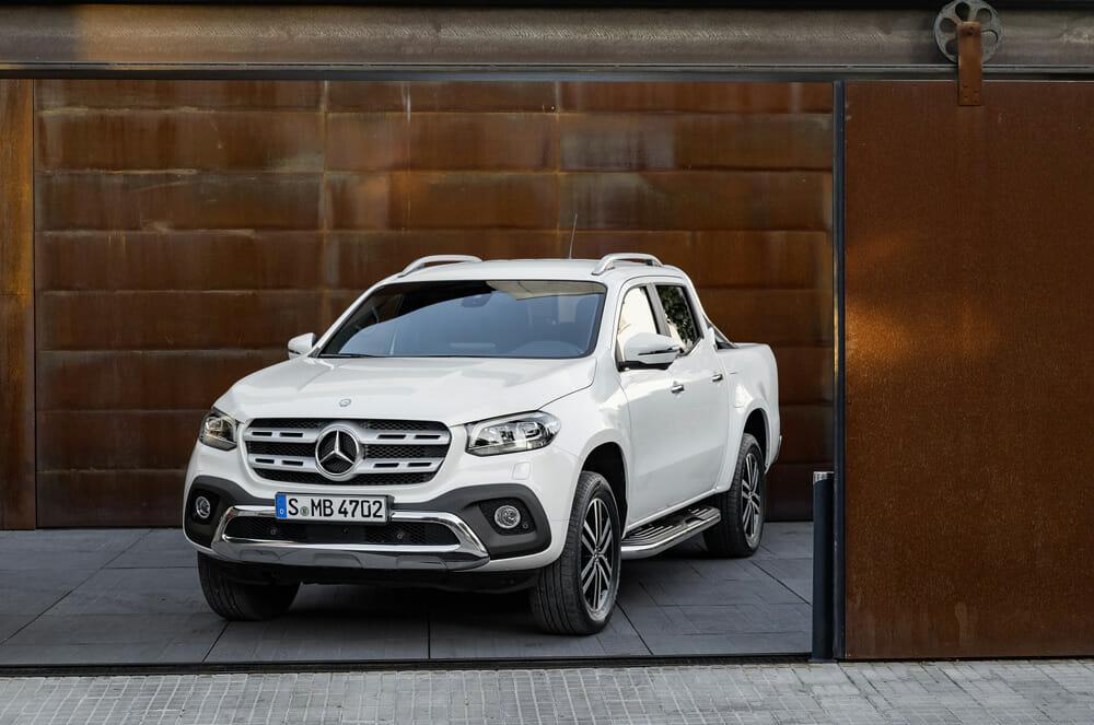 Mercedes-Benz X-Klasse – Exterieur, Beringweiß metallic, Auss