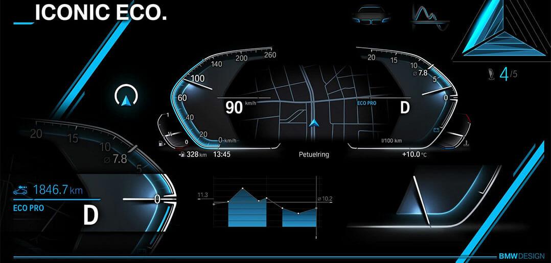BMW-dijital-gösterge