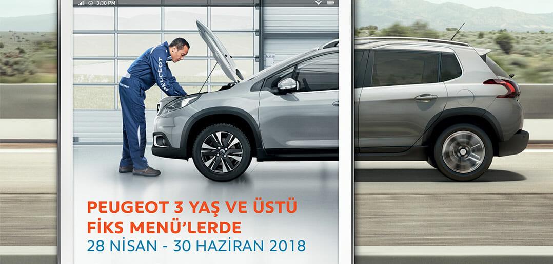 Peugeot-Fiks-Menü
